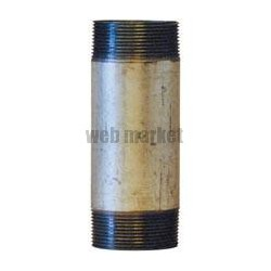 MAMELON 530 TUBE SOUDÉ FILETAGE CONIQUE LONGUEUR 100MM GALVA D33X42 RÉF 530033100G