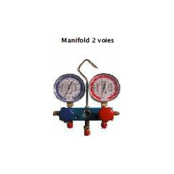 MANO DIAM 80 2V R410A + 3FLEX ANTI PULSATION