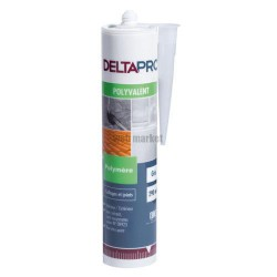 MASTIC UNIVERSEL JOINTS & COLLAGE DELTAPRO CARTOUCHE DE 290ML GRIS