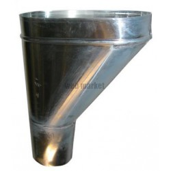 CUVETTE BRANCHEMENT ZINC 80