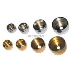 PITON D'EMBRASURE D18MM CHROME