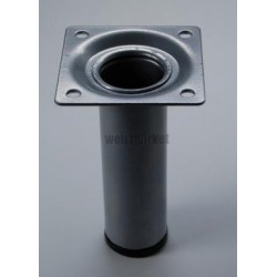 PIED TABLE CYLIND 250 GRIS