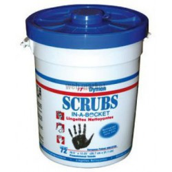 SCRUBS POT/72 SERVIETTES