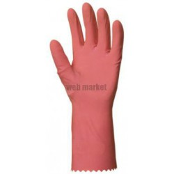 PE GANTS MENAGE LATEX ROSE T7