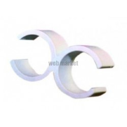 B./100 ATTACHES CLIC-RING 20