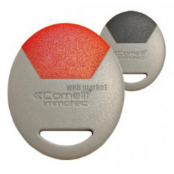 CLE RESIDANT MIFARE GRIS/ROUGE