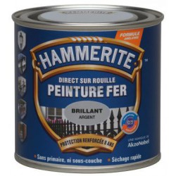 250ML HAMMERITE BRILLANT BLANC