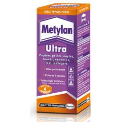 PAQUET 200G COLLE METYLAN ULTRA