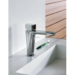 LAVABO KING AVEC VIDAGE UP DOWN LAITON CHROME RÉF. KG22051