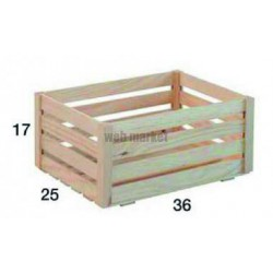 CAISSE PIN MONTEE 360X250X170