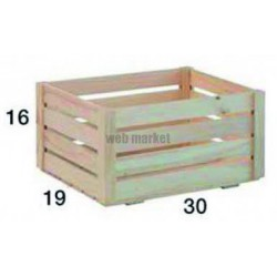CAISSE PIN MONTEE 300X190X160