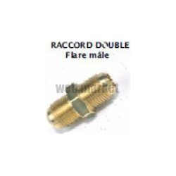 DOUBLE FLARE MALE A VISSER 3/4 SAE