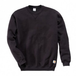 SWEAT COL ROND NOIR M