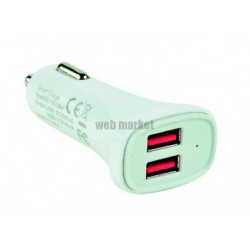 CHARGEUR USB ALL.CIGARE 2PORTS